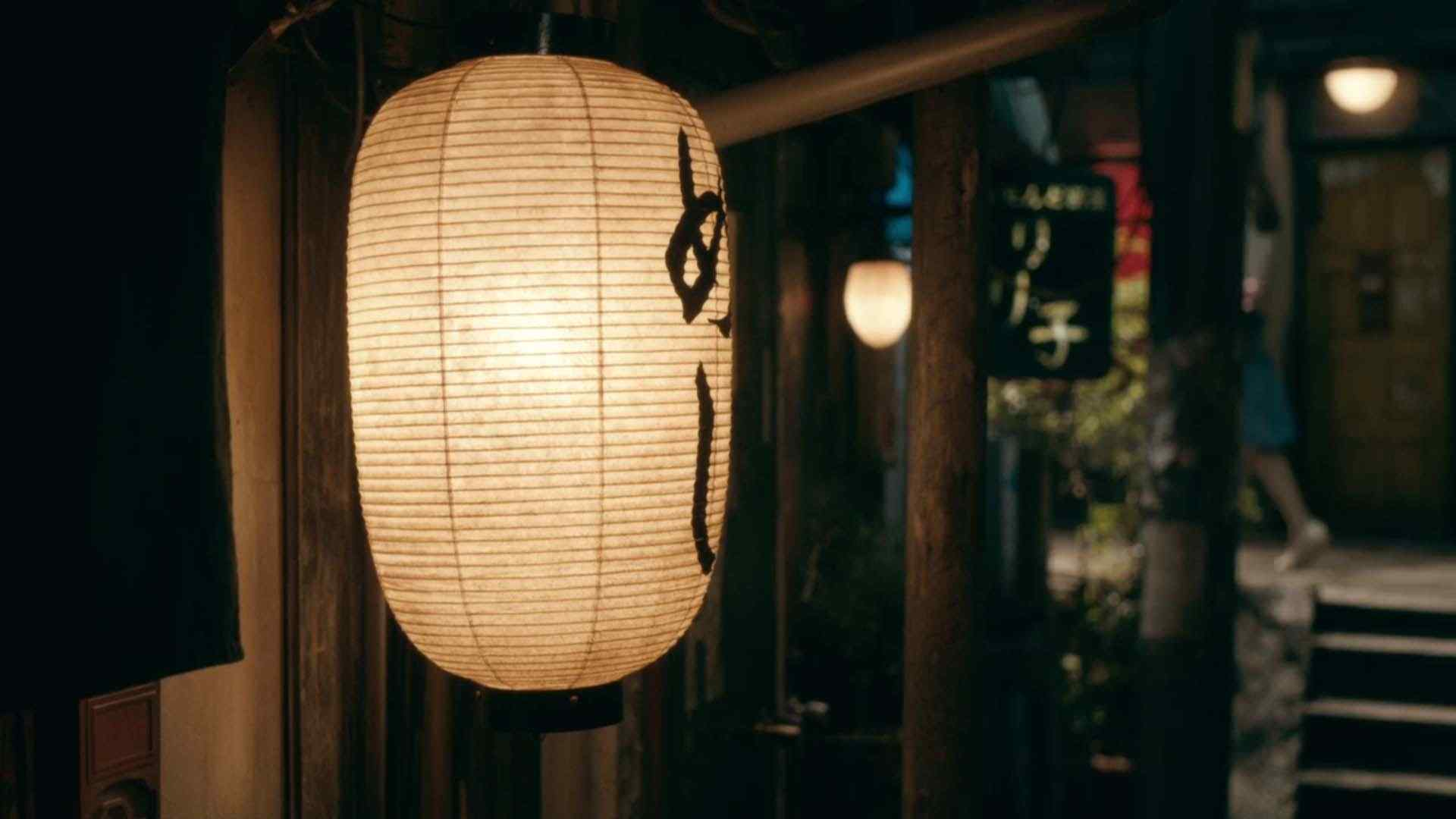 日版深夜食堂灯笼桌面壁纸