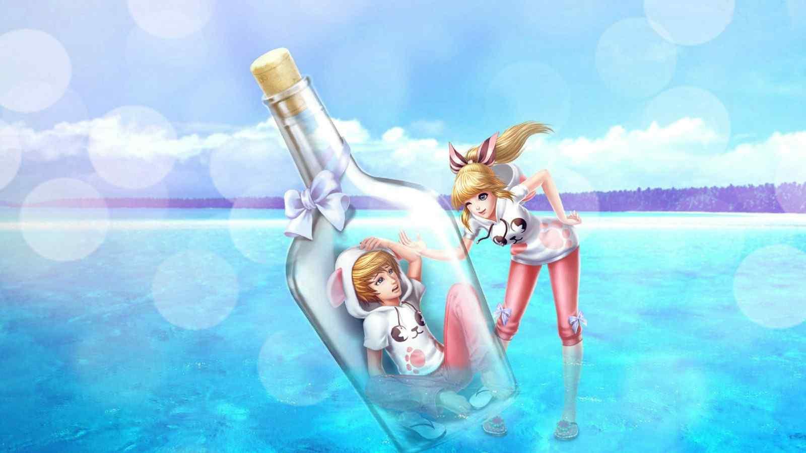 漂流瓶白兔之恋动