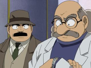 名侦探柯南阿笠博士高清壁纸