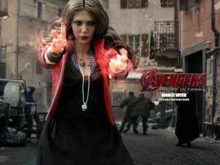 漫威女英雄绯红女巫高清壁纸