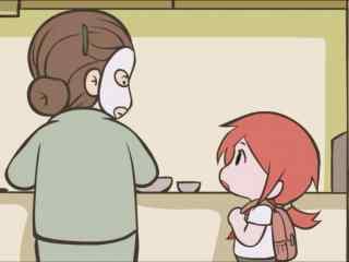 《罗小黑战记》之罗小白和妈妈桌面壁纸