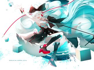 Vocaloid初音ミク(初音未来)魔法未来2016桌面壁纸