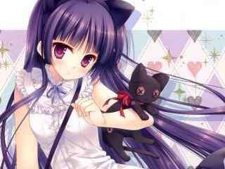 《我的妹妹哪有这么可爱》之黑猫五更琉璃