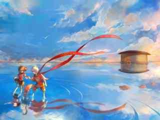 大鱼海棠同人唯美图桌面壁纸