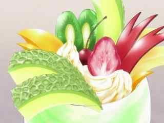 动漫美食图片食戟之灵二次元美食图片桌面壁纸4