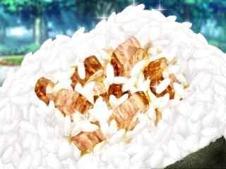 动漫美食图片食戟之灵二次元美味饭团图片桌面壁纸