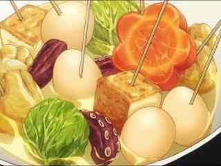 动漫美食图片食戟之灵二次元美食图片桌面壁纸8
