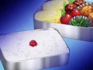 动漫美食图片食戟之灵二次元美味便当图片桌面壁纸