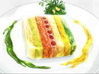 动漫美食图片食戟之灵二次元美食图片桌面壁纸7