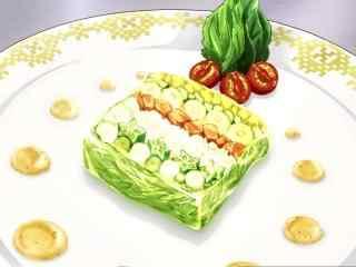 动漫美食图片食戟之灵二次元美食图片桌面壁纸12