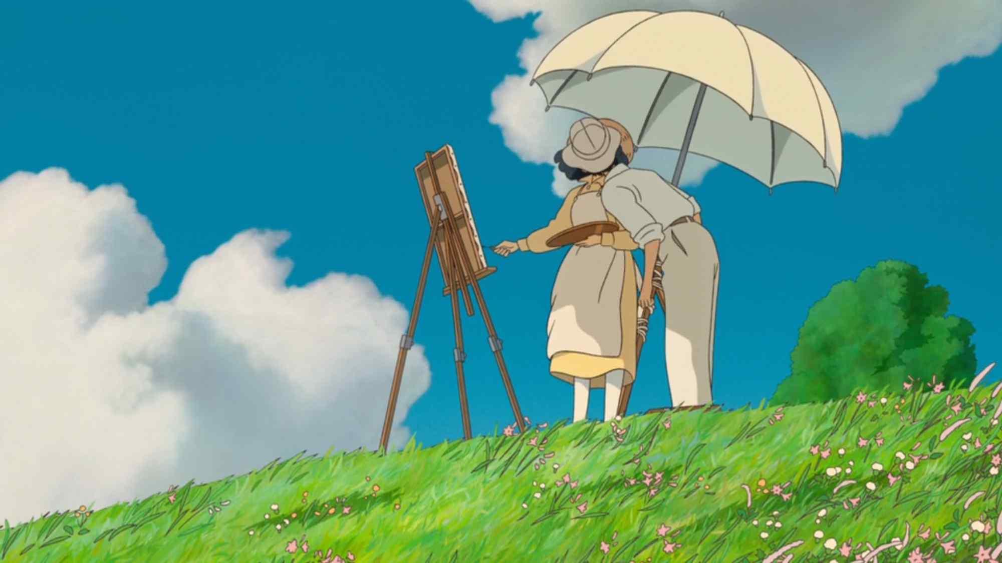 动漫电影《起风了》桌面壁纸