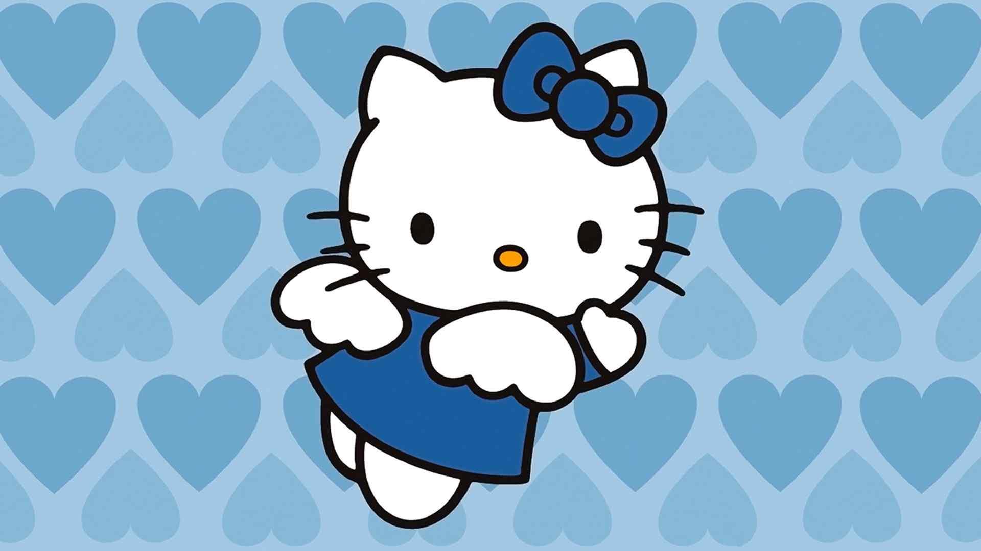 粉粉嫩嫩kitty猫超可爱萌物高清图片桌面壁纸
