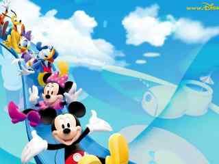 迪士尼经典卡通形