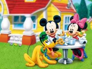 迪士尼卡通形象高