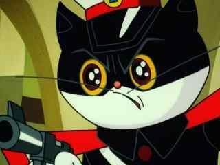 黑猫警长帅气高颜值桌面壁纸