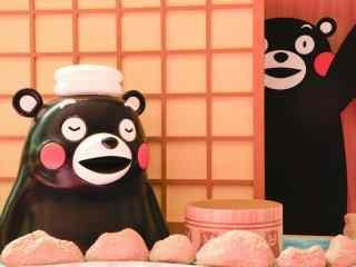 超可爱的熊本熊呆萌图片桌面壁纸