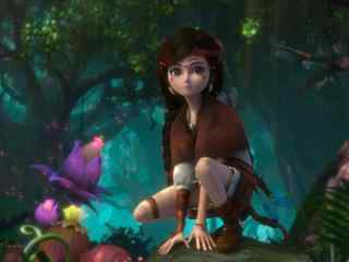《熊出没奇幻空间》之神秘少女纳雅图片