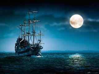 海上明月的动漫场