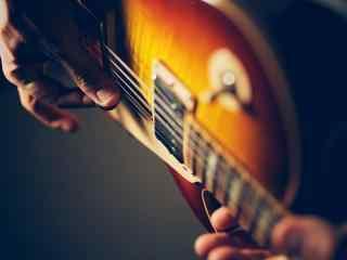 唯美创意金属吉他