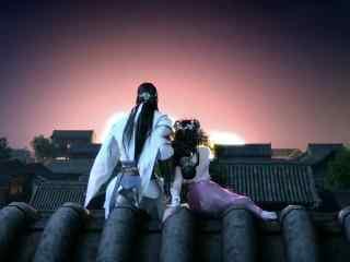 《少年锦衣卫》朱延婍与段云看日出剧照