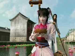 《少年锦衣卫》第7集九公主与段云放花灯剧照
