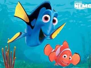 海底总动员小丑鱼玛林与多莉剧照壁纸