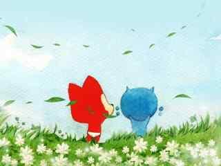 蓝色经典草原阿狸