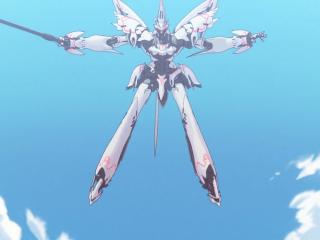 Re:CREATORS赛蕾嘉机甲战士飞跃图片