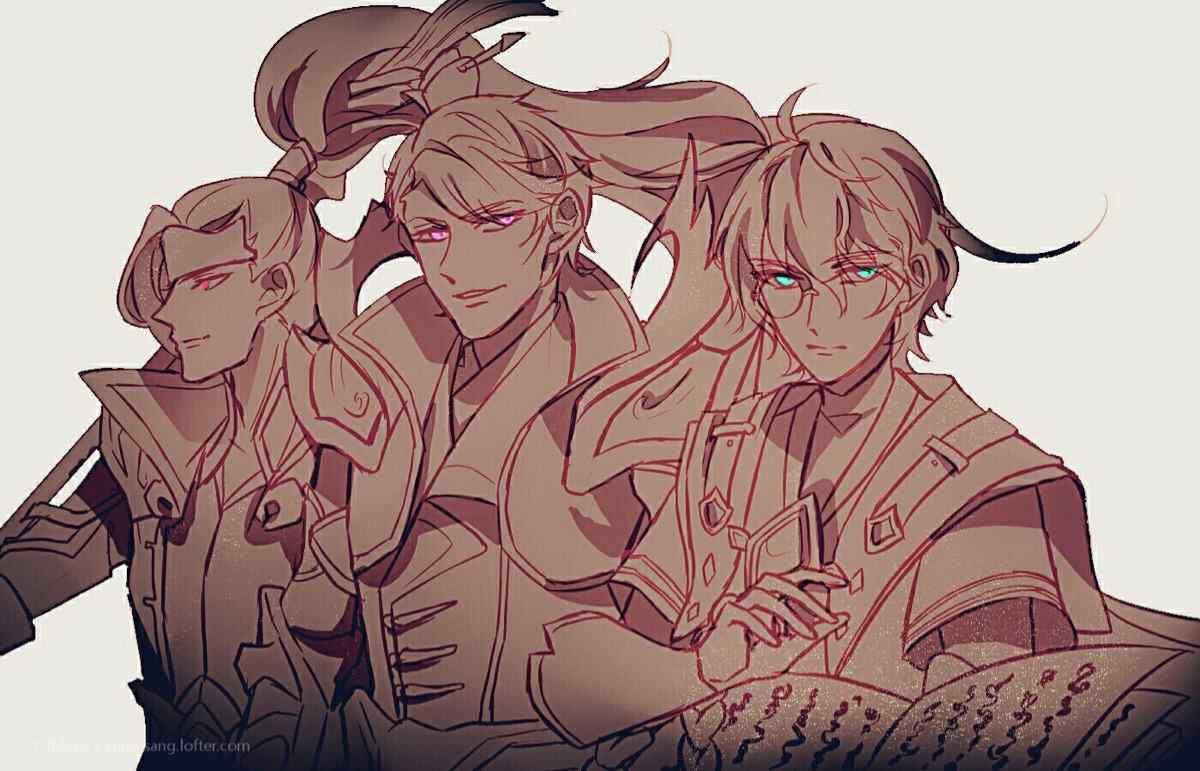 王者荣耀西汉三人组壁纸