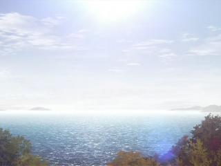 人渣的本愿动漫意境场景之天空与海