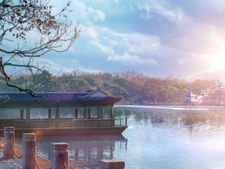 全职高手动漫场景之唯美杭州风景