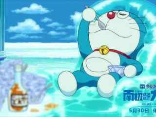 哆啦A梦南极大冒险之吃冰的哆啦A梦