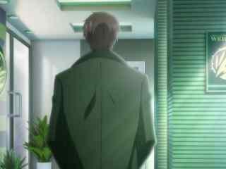 动画全职高手王杰希的背影图