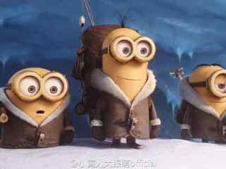 电影神偷奶爸3三只小黄人剧照图片