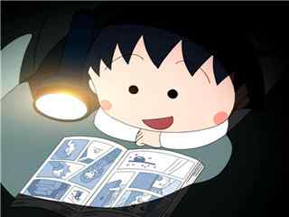 半夜看书的小丸子头像