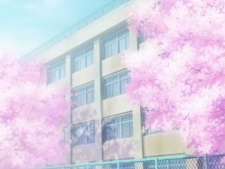 开学季之日系校园唯美风景壁纸