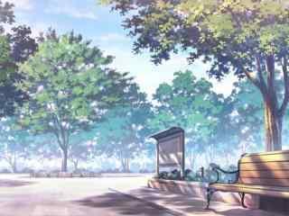 开学季之小清新校园风景图片