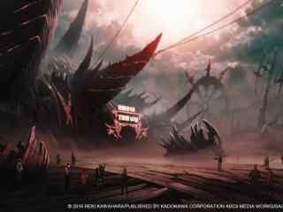 刀剑神域序列之争动漫场景图壁纸