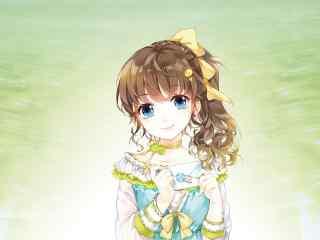 日本动漫萝莉美少女高清图片桌面壁纸