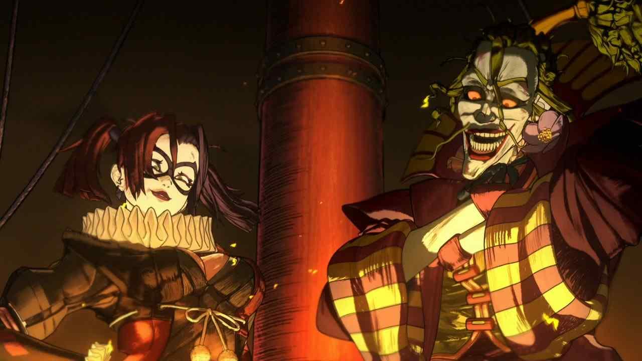 忍者蝙蝠侠小丑二人组恐怖剧照
