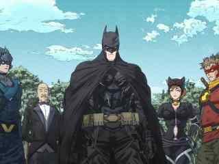 忍者蝙蝠侠蝙蝠侠大家庭合体版剧照图片