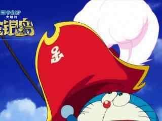 哆啦A梦:大雄的金银岛戴上船长帽剧照