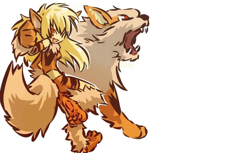 精灵宝可梦卡蒂狗和他的拟人化高清壁纸