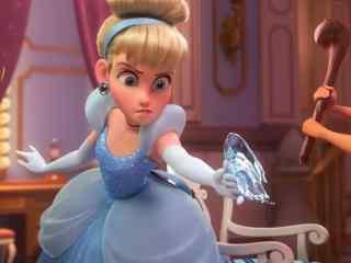 无敌破坏王2灰姑娘的水晶鞋竟然是武器高清壁纸