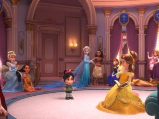 无敌破坏王2云妮洛普误闯入公主们房间高清图片