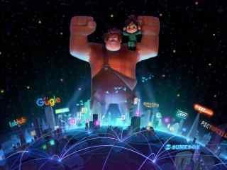 无敌破坏王2首张概念图高清图片