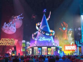 无敌破坏王2迪士尼广场惊艳亮相高清图片