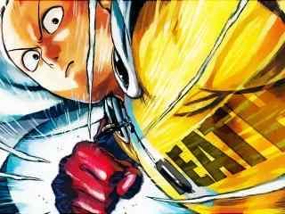 一拳超人埼玉老师漫画高清桌面壁纸