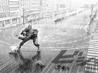 一拳超人埼玉老师VS深海王桌面壁纸