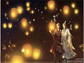 魔道祖師魏嬰藍(lan)湛高清人物(wu)動漫壁紙(zhi)
